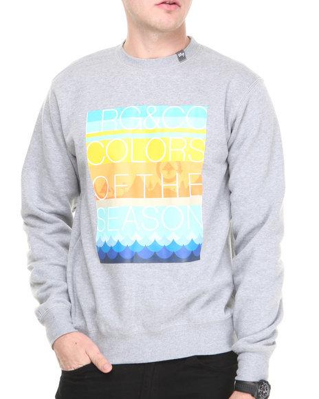 Lrg - Men Grey Colors Of The Season Sweatshirt