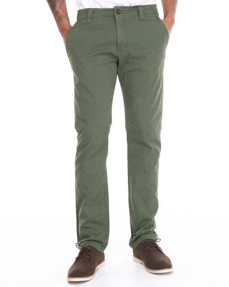 Fourstar Olive Ishod Fatigue Straight Slim Fit Pants
