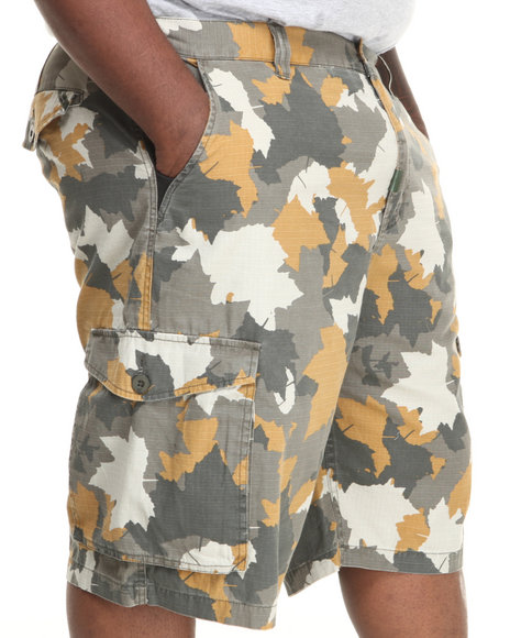 LRG - Men Tan Core Collection Classic Cargo Shorts (B & T)