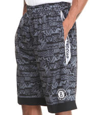 Men - Brooklyn Nets Joseph Aztec Drawstring Short