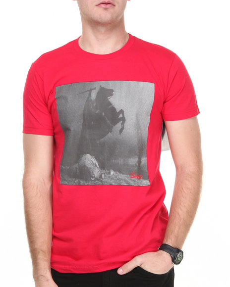 Vampire Life - Men Red Headless Horseman S/S Tee