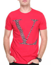 Men - V L Reflective Cement Logo S/S Tee