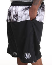 Shorts - Brooklyn Nets Emerald Drawstring Short (B&T)