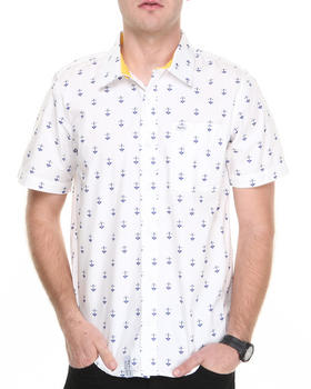 LRG - STAY ANCHORED S/S BUTTON-DOWN
