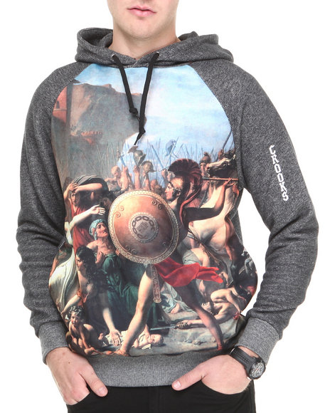 Crooks & Castles - Men Black Pillage Hooded Pullover
