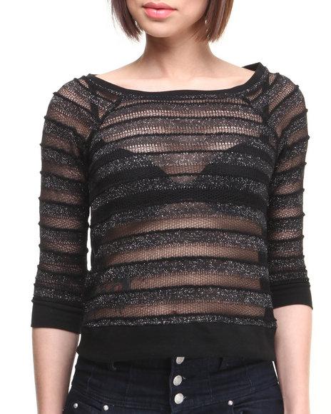 Rampage Black Fashion Tops