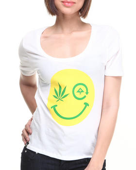 LRG - Tree Happy Scoop Neck Jersey Tee