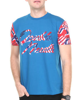 Double Needle - Waving Flag Tee