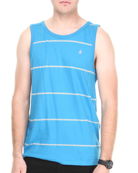 Volcom - Men Blue Tangle Tank