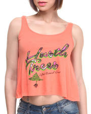 LRG - Hustle Trees Crop Tank