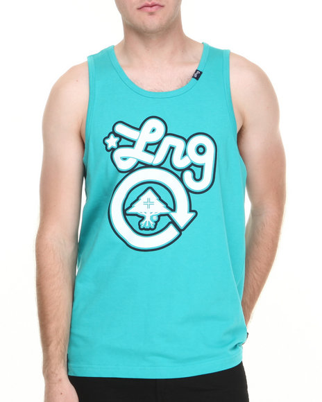 Lrg - Men Teal Core Collection One Tank