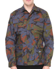 Crooks & Castles - Killstreak Mixed Camo L/S Button-Down