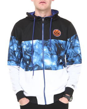 NBA, MLB, NFL Gear - New York Knicks Brilliant Zip Up Hoodie