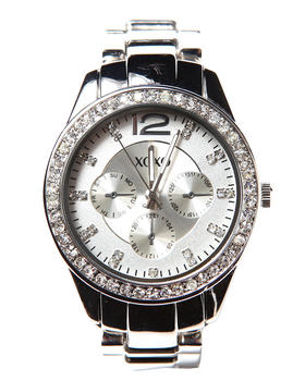 XOXO - Round Bling Metal Watch