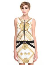 Versace Jeans - Duchesse Star & Stud Dress