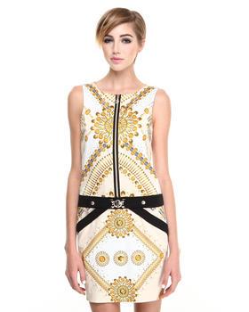 Versace Jeans - Duchesse Star & Stud Dress