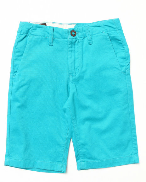 Volcom Boys Teal Faceted Shorts (8-20)