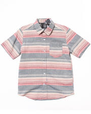 Button-downs - Horzy S/S Woven (8-20)