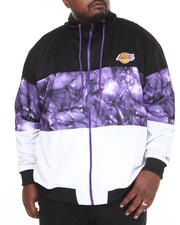 NBA, MLB, NFL Gear - Los Angeles Lakers Brilliant Zip Up Hoodie (B&T)