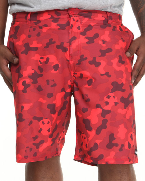 LRG - Men Red Core Collection Boardwalk Shorts (B & T)