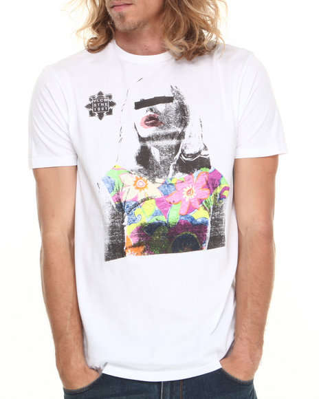 Volcom White Get Blonded Tee