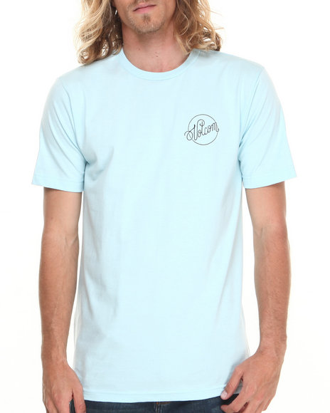Volcom - Men Light Blue Madame Tee