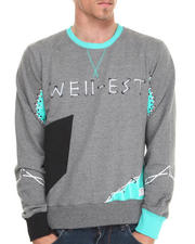 Sweatshirts & Sweaters - Strings Quilted & Patchwork Crew