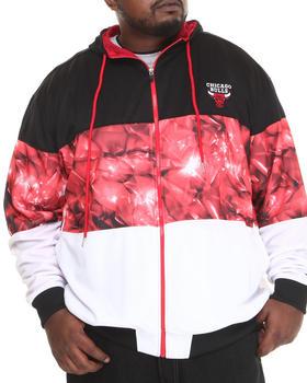NBA, MLB, NFL Gear - Chicago Bulls Brilliant Zip Up Hoodie (B&T)
