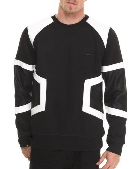 Kite Club White Tron Sweatshirt