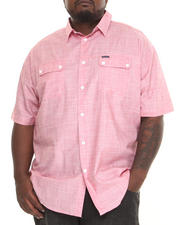 Rocawear - Nostrand Ave. S/S Button-down (B&T)