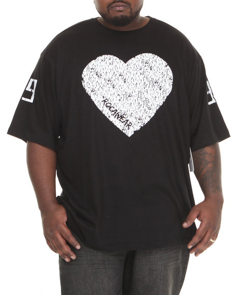 Rocawear - Men Black Black Hearts 99 S/S Knit Tee (B&T)