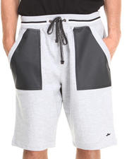 Men - PU Shorts