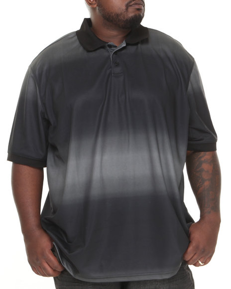 Rocawear - Men Black Black Diamond Polo (B&T)