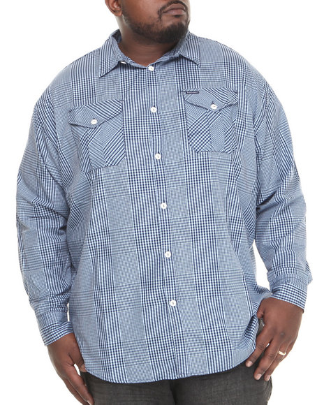 Rocawear Midnight A Children's Story L/S Button-Down (Big & Tall)