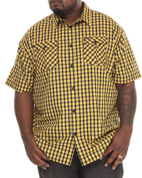 Rocawear Gold Everyday S/S Button-Down (Big & Tall)