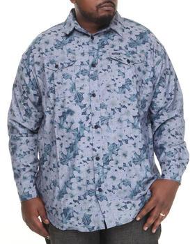 Rocawear - Plumeria L/S Button-down (B&T)