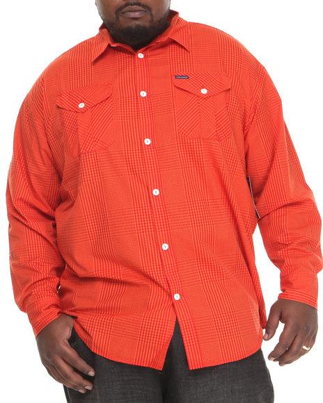 Rocawear - Men Orange A Children's Story L/S Button-Down (B&T)