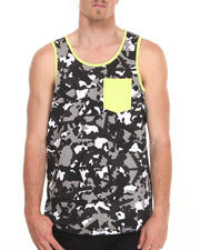 Men - Camo All-Over Tank