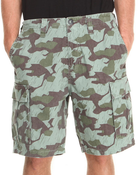 Mens Camo Shorts Cargo