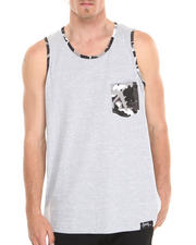 Men - Camo Pocket Tank