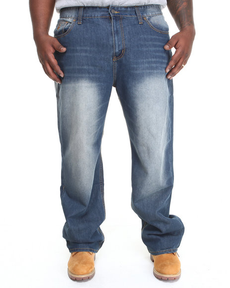 Rocawear - Men Medium Wash Bsltc Jeans (B & T)