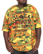Rocawear - Gradient Camo Black Hearts Tee (B&T)