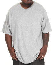 Big & Tall - Slub V-Neck Tee (B&T)