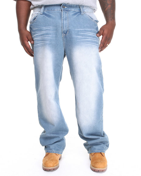 Rocawear - Men Light Wash Universal Jeans (B & T)