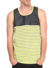 Men - Pieced PU Tank