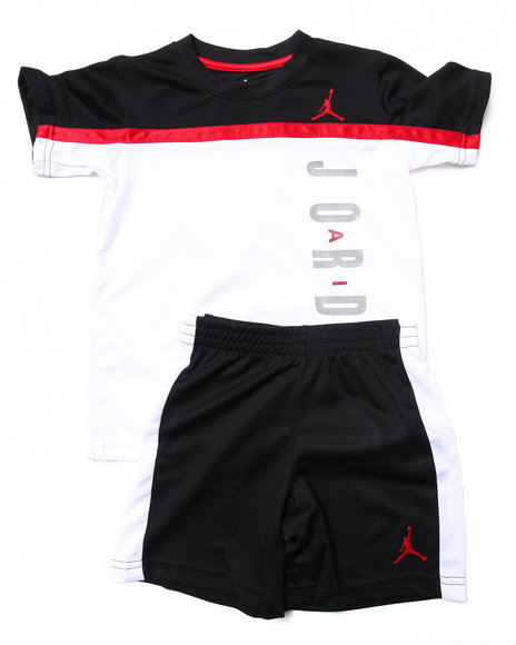 Air Jordan - SPLIT LEVEL SHORT SET (4-7)