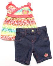 Sets - 2 PC SET - ZEBRA CAMI & JEANS (INFANT)