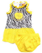 Girls - ZEBRA PRINT TUTU DRESS (NEWBORN)