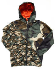 Outerwear - Forwarder Mixed Camo Jacket (8-20)