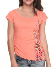 Baby Phat - Screen Print Asymmetrical Top